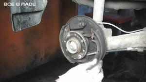 Замена тормозного барабана на калине