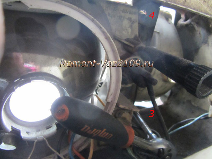 Замена гидрокорректора фар на ВАЗ 2108, ВАЗ 2109, ВАЗ 21099