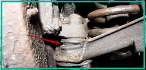Проверка рулевых тяг и их шаровых шарниров на ВАЗ 2101-ВАЗ 2107