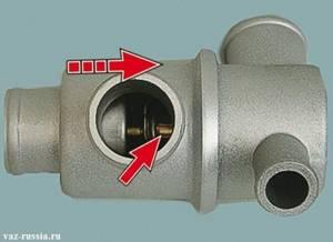 Замена термостата на ВАЗ 2113, ВАЗ 2114, ВАЗ 2115