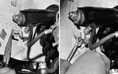 Замена тормозных шлангов на ВАЗ 2101-ВАЗ 2107