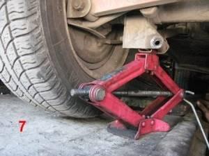 Замена пружин задней подвески на ВАЗ 2101-ВАЗ 2107