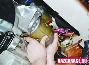 Ремонт стартера на ВАЗ 2108, ВАЗ 2109, ВАЗ 21099