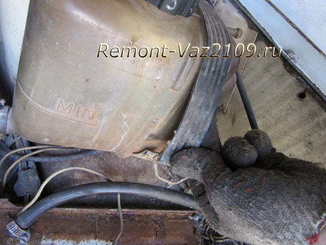 Замена расширительного бачка на ВАЗ 2108, ВАЗ 2109, ВАЗ 21099