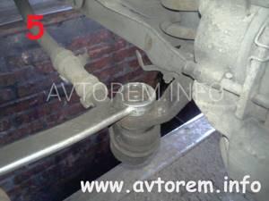 Замена верхнего рычага на ВАЗ 2101-ВАЗ 2107