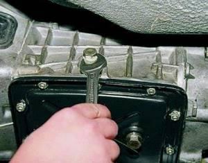 Замена масла в коробке передач (КПП) на приоре