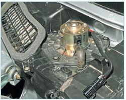 Замена вентилятора печки на приоре