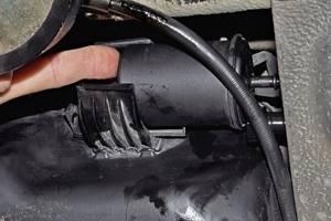Замена топливного фильтра на гранте
