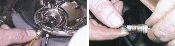 Замена лампочки в повторителе на ВАЗ 2108, ВАЗ 2109, ВАЗ 21099