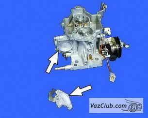 Замена шпилек карбюратора на ВАЗ 2108, ВАЗ 2109, ВАЗ 21099
