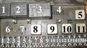 Замена блока предохранителей на ВАЗ 2108, ВАЗ 2109, ВАЗ 21099