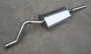 Замена задней части глушителя на ВАЗ 2108, ВАЗ 2109, ВАЗ 21099