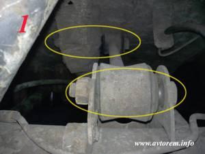 Замена реактивных тяг на ВАЗ 2101-ВАЗ 2107