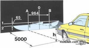 Регулировка света фар на ВАЗ 2113, ВАЗ 2114, ВАЗ 2115