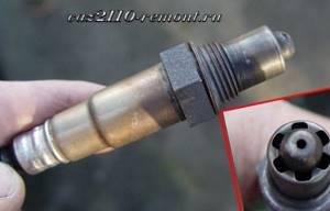 Замена датчика кислорода на ВАЗ 2110, ВАЗ 2111, ВАЗ 2112