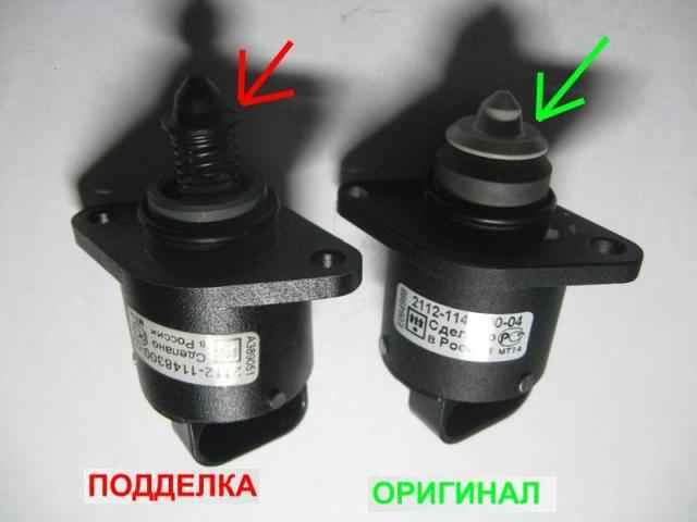 Замена датчика холостого хода на ВАЗ 2113, ВАЗ 2114, ВАЗ 2115