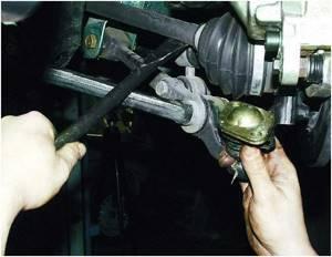 Замена шаровой опоры на ВАЗ 2110, ВАЗ 2111, ВАЗ 2112