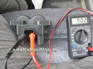 Замена модуля зажигания на калине и его проверка