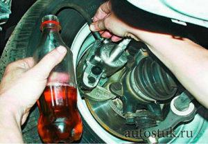 Замена тормозной жидкости на приоре