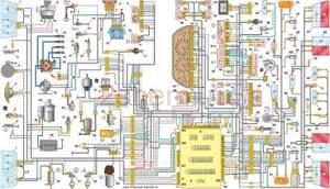 Схема ВАЗ-2110 инжектора с 8 клапанами – какие неисправности помогает найти?