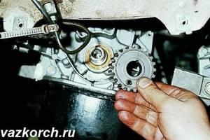 Замена переднего сальника коленвала на ВАЗ 2110, ВАЗ 2111, ВАЗ 2112