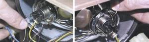 Замена лампы в основной фаре на ВАЗ 2108, ВАЗ 2109, ВАЗ 21099