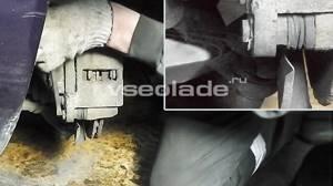 Замена передних тормозных колодок на калине