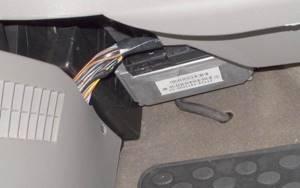 Замена контроллера (ЭБУ) и его перенос на калине