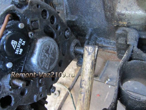 Замена генератора на ВАЗ 2108, ВАЗ 2109, ВАЗ 21099