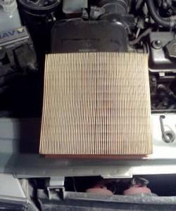 Замена воздушного фильтра на ВАЗ 2113, ВАЗ 2114, ВАЗ 2115