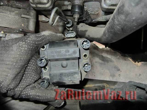 Замена модуля зажигания на ВАЗ 2113, ВАЗ 2114, ВАЗ 2115