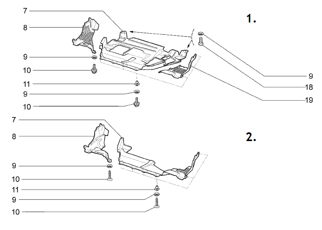 Замена рулевой рейки на калине