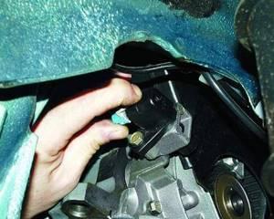 Замена датчика положения коленвала на ВАЗ 2108, ВАЗ 2109, ВАЗ 21099