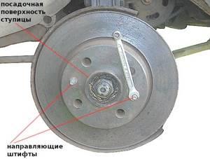 Замена тормозного диска на ВАЗ 2108, ВАЗ 2109, ВАЗ 21099