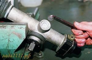Регулировка рулевой рейки на ВАЗ 2110, ВАЗ 2111, ВАЗ 2112