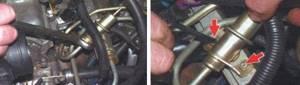 Замена регулятора давления топлива на ВАЗ 2108, ВАЗ 2109, ВАЗ 21099