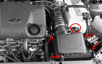 Замена вентилятора и радиатора охлаждения двигателя на калине