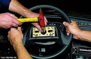 Замена рулевого колеса на ВАЗ 2110, ВАЗ 2111, ВАЗ 2112