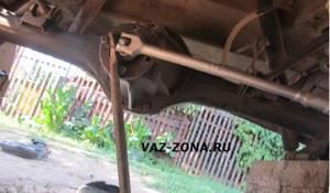 Замена редуктора заднего моста на ВАЗ 2101-ВАЗ 2107