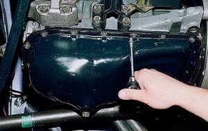 Замена поддона картера и его прокладки на ВАЗ 2108, ВАЗ 2109, ВАЗ 21099